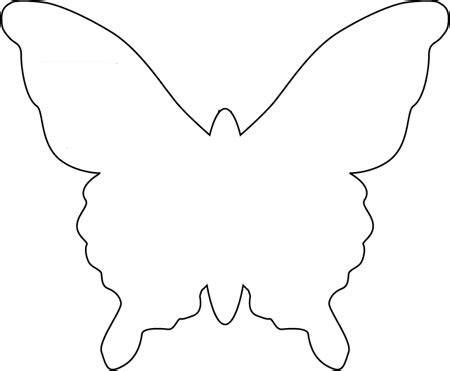 butterfly paper cut out template best photos of butterfly paper cut out templates