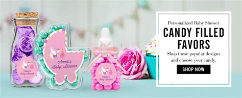 Baby Shower Favors by Baby Shower Favors Personalized Baby Shower Bars More