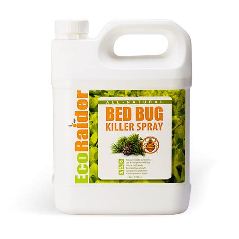 bed bug killers bed bug killer spray 1 gallon jug natural non toxic