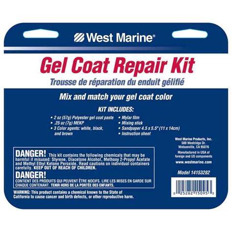 boat gel coat repair kit west marine gelcoat repair kit west marine