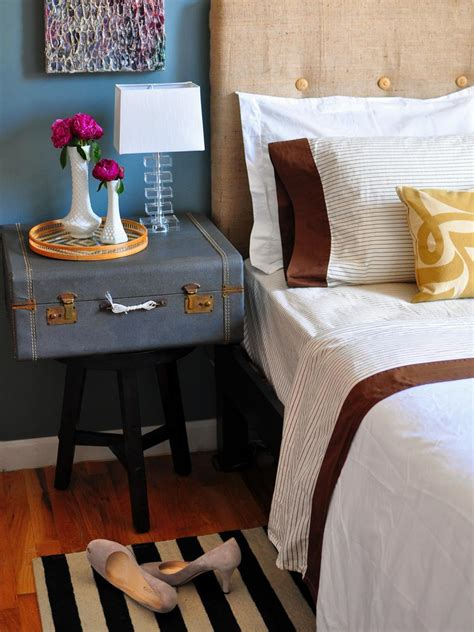 Ideas For Nightstands | 12 ideas for nightstand alternatives diy