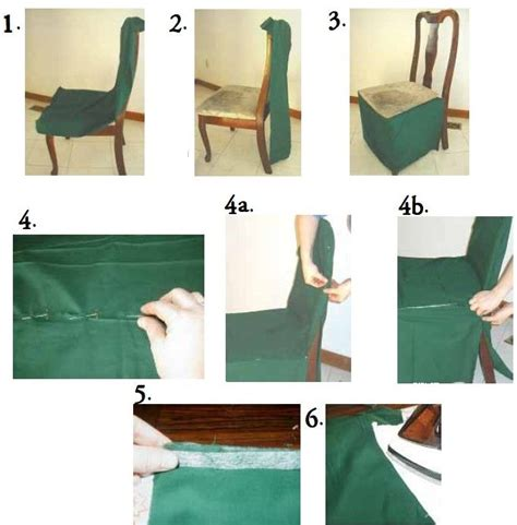 Diy Chair Covers Dining Room by How To Make A Dining Chair Cover Chair Pads Cushions