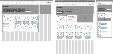 tutorial website mockup responsive design with balsamiq balsamiq support portal