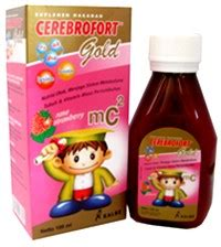 Vitamin Cerebrofort Gold Cerebrofort Gold Strawberry 200ml