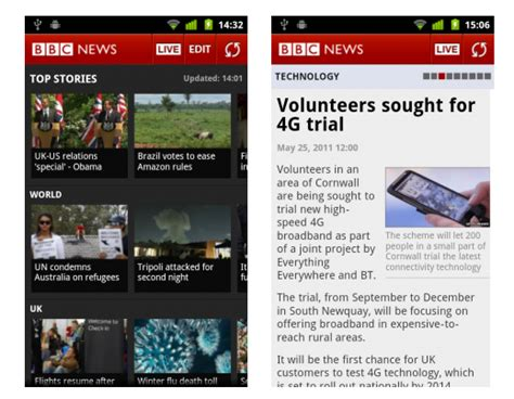 news apps for android news app for android gadgetian