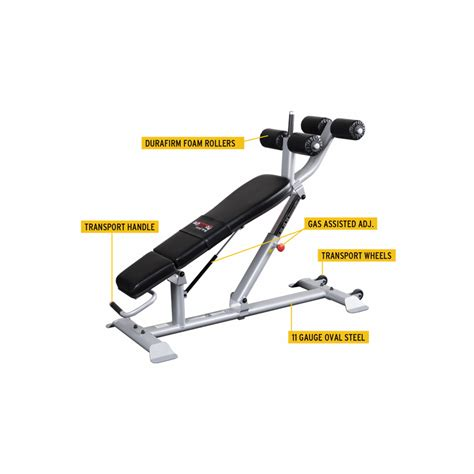 ab bench body solid sab500 pro clubline adjustable ab bench