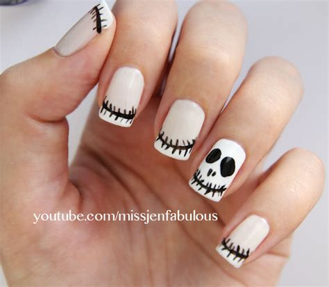 imagenes de uñas halloween 2014 u 241 as decoradas halloween faciles catrinas 12 catrinas10