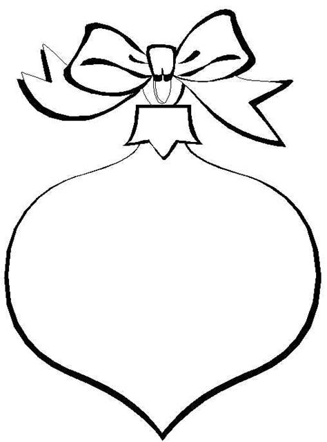 christmas ornament coloring pages search results