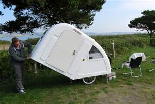Comfortable Tent Camping This Foldable Bicycle Camper Lets You Live Comfortably On