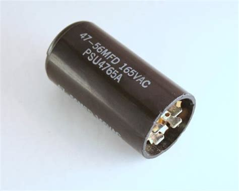 motor start capacitor mallory psu4765a mallory capacitor 47uf 165v application motor