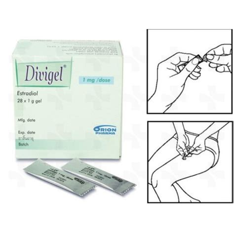 divigel estradiol gel 1mg estrogen menopause 28 sachets