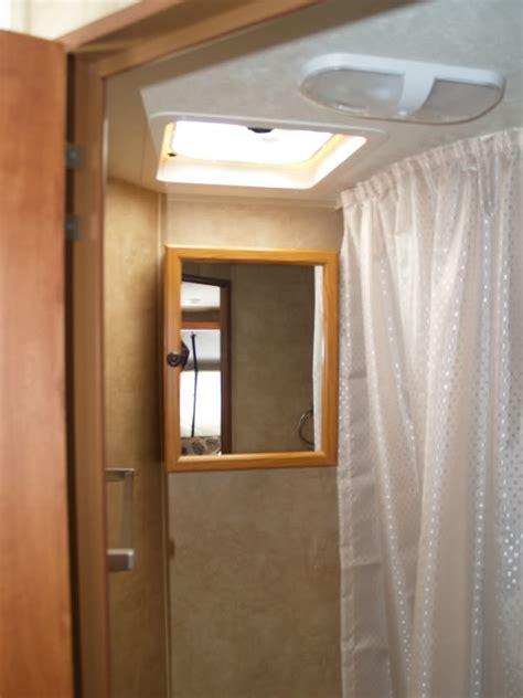 motorhome bathroom cabinet 2011 x17z bathroom mirror to medicine cabinet page 3 jayco rv owners forum