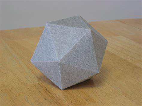 How To Make A Polyhedron Out Of Paper - january 2009 zing