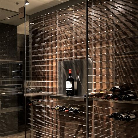 New Trends In Home Decor stact modular wine wall lifestyle fancy