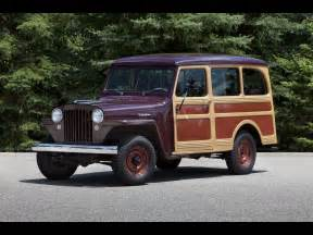 1949 willys jeep station wagon front and side 2