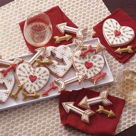 decorated valentines cookies cookie recipes for s day creative cookie