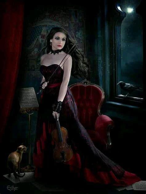 gothic art gothic art gothic art and fantasy art gothic fantasy art violins