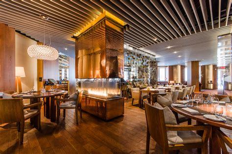 Floor Plan Architecture by French Restaurant Montreal Maison Boulud Ritz Carlton