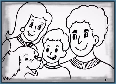 imagenes de la familia para iluminar imagenes de familia extensa para colorear archivos