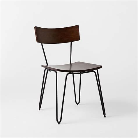 Legs For Chairs by Hairpin Leg Dining Chair West Elm