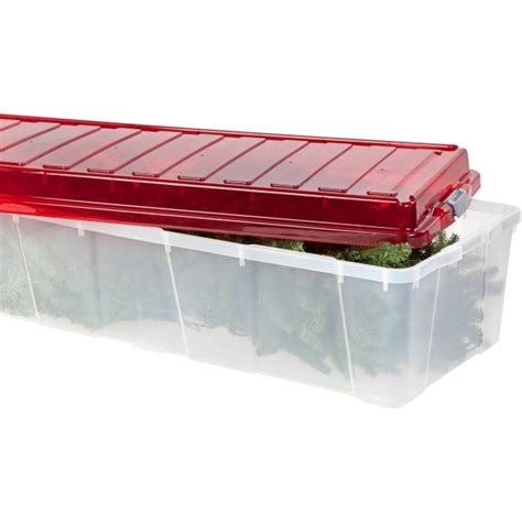 christmas tree storage box simple expandable rolling