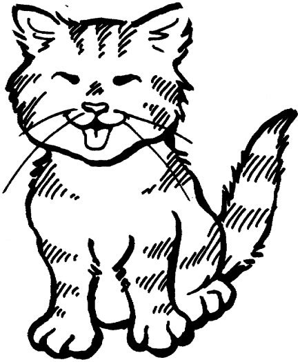 coloring pages of tabby cats cat color pages printable cat 22 coloring page super
