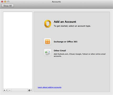 how to configure outlook for mac for office 365