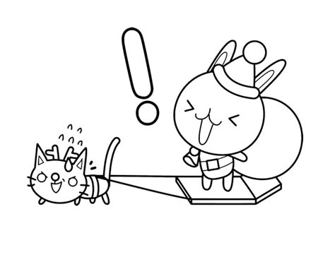christmas bunny coloring pages rabbit santa coloring page coloringcrew com