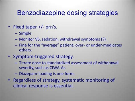 Benzodiazepine Withdrawal A Literature Review And Evaluation by Addiction Medicine Pdf
