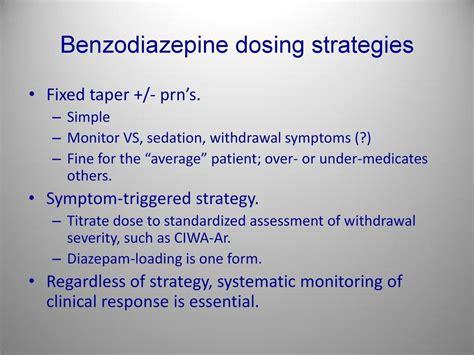 Detox Ciwa 14 Diazepam by Addiction Medicine Pdf