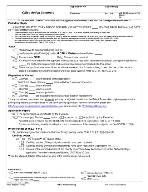Resume Format New Pdf by 707 Examiner S Letter Or Action