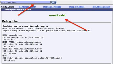Email Addresses Lookup How To Verify If Email Address Exist Or Not