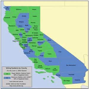 california map detailed