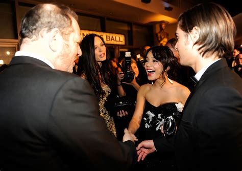 zac weinstein actor vanessa hudgens and harvey weinstein photos photos 81st