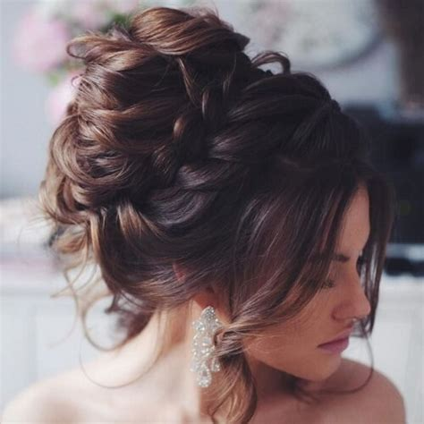 Wedding Hair Updo With Braids by 50 Luxurious Wedding Updos Hair Motive Hair Motive