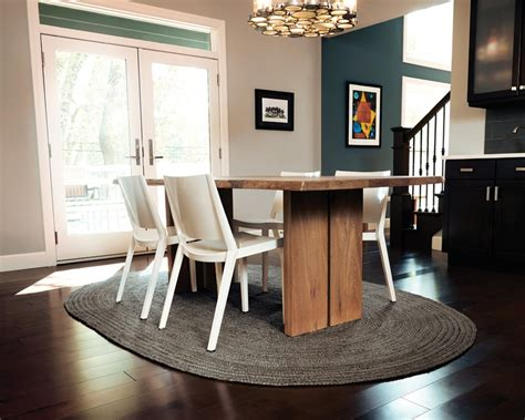 Oval Rugs For Dining Room by Oval Jute Rugs Shop By Color Dining Room Table And Rug
