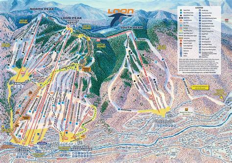 loon mountain lodging new hshire hotels loon mountain trail map onthesnow
