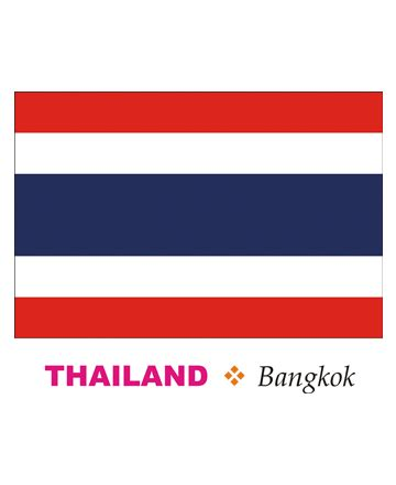 thailand flag coloring pages for kids to color and print