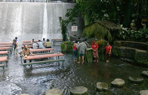 villa escudero waterfalls restaurant villa escudero resort with the waterfalls restaurant in