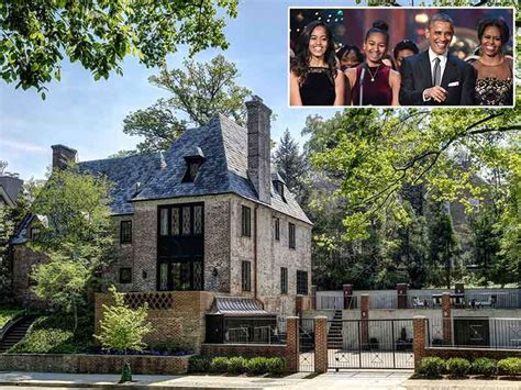 obama residence the obama family will live in d c mansion after
