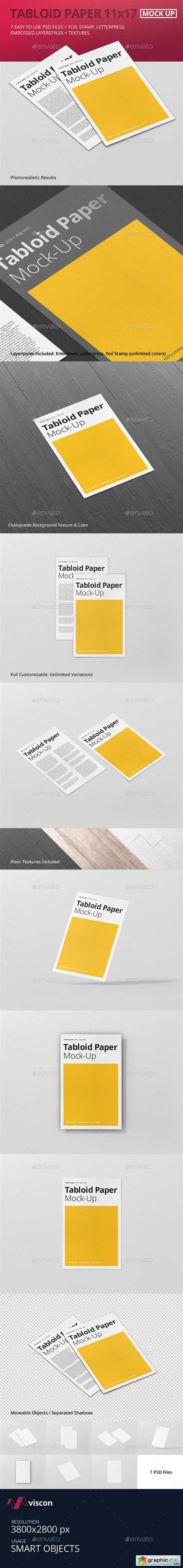 11x17 Poster Template Photoshop tabloid paper mock up 11x17 187 free vector stock