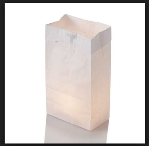 fire retardant luminary bags