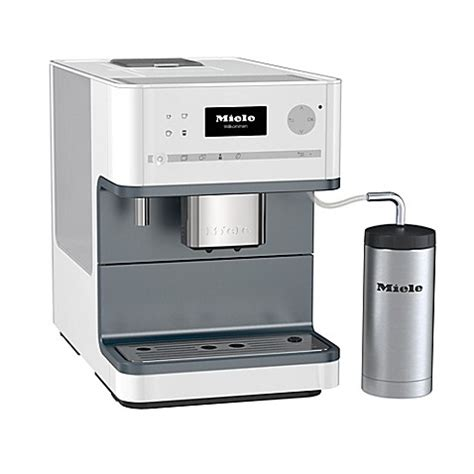 bed bath and beyond miele miele cm6310 countertop coffee system in white bed bath