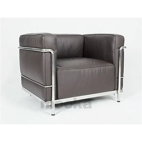 Le Corbusier Lc3 Sofa by Le Corbusier Lc3 Sofa Armchair Mooka Modern Furniture