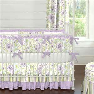Pics photos lilac floral baby bedding for girls