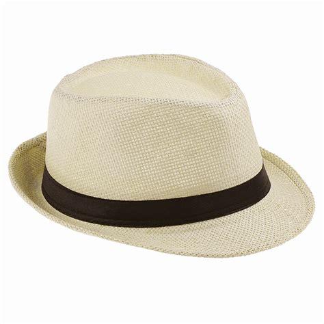 Handmade Cowboy - straw fedora cap trilby chapeu sun hat sombrero