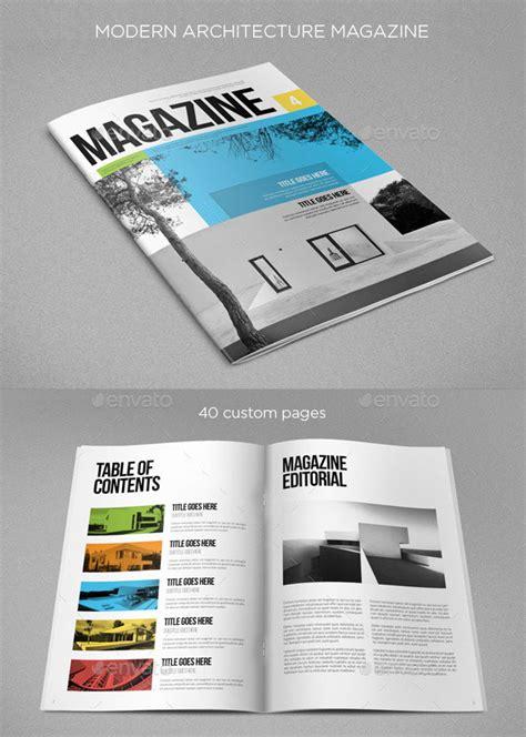 modern architecture magazine 20 amazing indesign magazine layout cover design