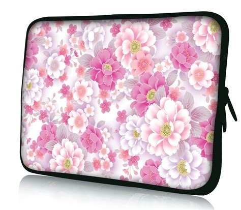 Flower Soft Hp by Pink Flower Soft 14 Inch 14 1 Quot Laptop Bag Sleeve
