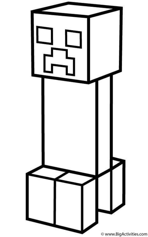 minecraft redstone coloring pages creeper coloring page minecraft