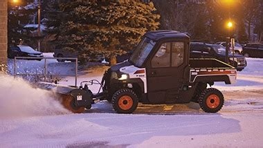 utility vehicles and snow removal – bobcat company